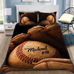 Custom Bedding Baseball Personalized Bedding Set