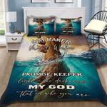 Custom Bedding Jesus Saves Bedding Set