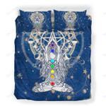 Custom Bedding Chakras Spiritual Call Down The Moon Meditation Bedding Set