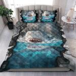 Custom Bedding Scary Shark Bedding Set