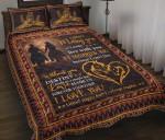 Custom Bedding Valentine Wedding Anniversary Gift For Horse Lovers Bedding Set