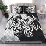 Custom Bedding Black & White Dragon Art Bedding Set