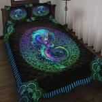 Custom Bedding Blue Dragon Bedding Set