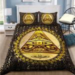 Custom Bedding Ancient Egypt Eye Of Horus Bedding Set