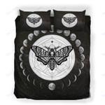 Custom Bedding Alchemy Death Moth Skull Bedding Set