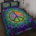 Custom Bedding Purple Flower Hippie Bedding Set