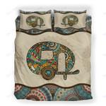Custom Bedding Camping Vintage Mandala Bedding Set