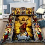 Custom Bedding Christian Jesus Bedding Set - Gift for Jesus Lover