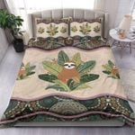 Custom Bedding Sloth Boho Pattern Bedding Set