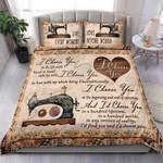 Custom Bedding Sewing - I Choose You Bedding Set