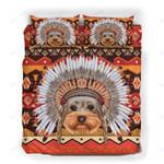 Custom Bedding Yorkshire Terrier War Bonnet Bedding Set