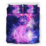 Custom Bedding Galaxy Red Fox Constellation Bedding Set