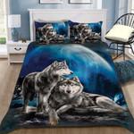 Custom Bedding Wolf Bedding Set - Gift for Couple