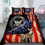 Custom Bedding US Navy Personalized Name Bedding Set