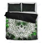 Custom Bedding Sugar Green Skull Bedding Set