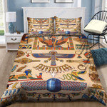 Custom Bedding Ancient Egyptian Jewellery Bedding Set