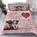 Custom Bedding Pig - I Choose You Bedding Set