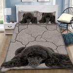 Custom Bedding 3D Poodle Weed Bedding Set