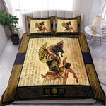 Custom Bedding Ancient Egyptian Anubis Bedding Set