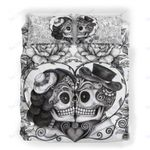 Custom Bedding The Endless Love Skull Bedding Set
