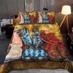 Custom Bedding Cowboy Boots Lover Bedding Set