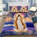 Custom Bedding Christian Jesus Bedding Set - Gift for Jesus Lover #62265