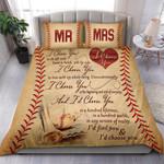 Custom Bedding Baseball - I Choose You Bedding Set