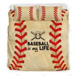 Custom Bedding Baseball Is My Life Bedding Set