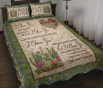 Custom Bedding Cactus - I Choose You In A Hundred Lifetimes Bedding Set
