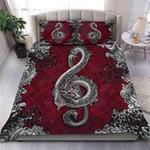 Custom Bedding Dragon Music Art Bedding Set