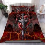 Custom Bedding Dragon Sword Bedding Set