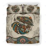 Custom Bedding Fishing Vintage Mandala Bedding Set