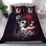 Custom Bedding Sugar Skull Bedding Set