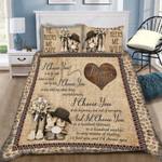 Custom Bedding I Choose You Bedding Set - Gift for Couple