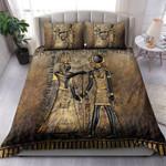 Custom Bedding Ancient Egypt Pharaoh and Horus Bedding Set