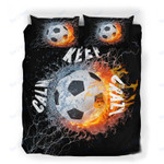 Custom Bedding Calm But Crazy Soccer Fanatic Bedding Set