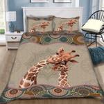 Custom Bedding Giraffe Boho Pattern Bedding Set