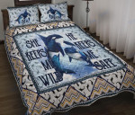 Custom Bedding Orcas - Beautiful Couple Of Orcas Watercolor Bedding Set