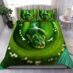 Custom Bedding Green Tree Python Bedding Set #72663