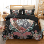 Custom Bedding 3D Sugar Skull Bedding Set
