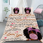 Custom Bedding Personalized Name To My Granddaughter Comforter Set Duvet Cover Bedding Set - Gift for Granddaughter