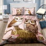 Custom Bedding Owl Love For Night Dream Bedding Set #74781