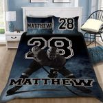 Custom Bedding Hockey Personalized Bedding Set #39026