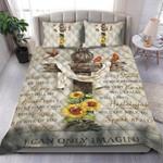Custom Bedding I Can Only Imagine - Jesus Quilt Bedding Set