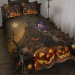 Custom Bedding Black Cat Halloween Bedding Set