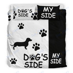 Custom Bedding Dachshund Dog's Side My Side Bedding Set