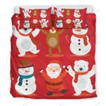 Custom Bedding Merry Christmas Bedding Set