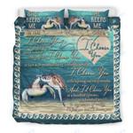 Custom Bedding Turtle - I Choose You Couple Bedding Set