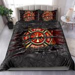Custom Bedding Symbol Firefighter Lover Bedding Set