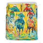 Custom Bedding Colorful Horse Bedding Set